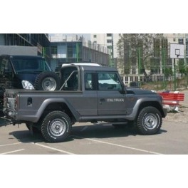 ATTELAGE IVECO Massif Pick-Up 2008- - Col de cygne - attache remorque ATNOR