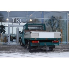 ATTELAGE Volkswagen LT28/32/35 fourgon roues simples 1995-2006 - rotule equerre - attache remorque BRINK-THULE