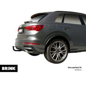ATTELAGE Volkswagen New Beetle 1998-2006 (Sans radar de recul) - RDSO demontable sans outil - attache remorque BRINK-THULE