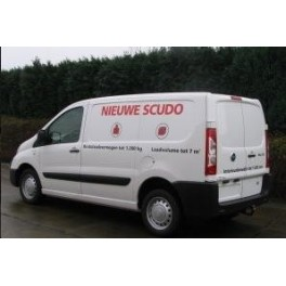 ATTELAGE Fiat Scudo fourgon 2007- - (sauf suspension pneumatique) Rotule equerre - attache remorque BRINK-THULE