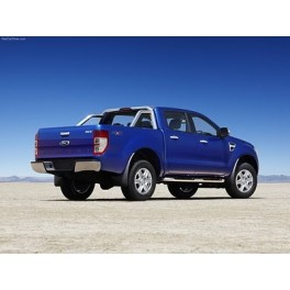 ATTELAGE FORD RANGER 2012- - pick-up 4WD - Avec protection inferieure - Rotule equerre - attache remorque BRINK-THULE