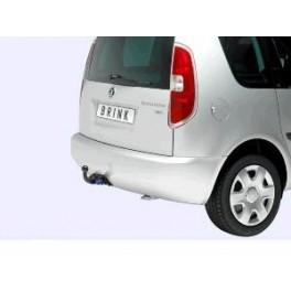 ATTELAGE Skoda Roomster 2006- - RDSO demontable sans outil - attache remorque BRINK-THULE