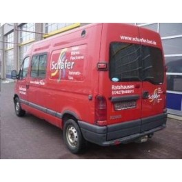 ATTELAGE Renault Master fourgon 1998- - rotule equerre - attache remorque BRINK-THULE