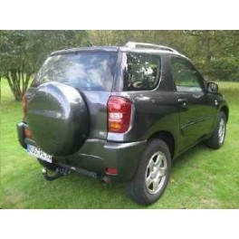 ATTELAGE Toyota RAV4 2000-2005 Funcruiser (XA2) - RDSO demontable sans outil - attache remorque BRINK-THULE