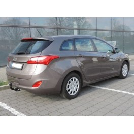 ATTELAGE HYUNDAI I30 BREAK 08/2012- (CROSS WAGON) - RDSO Rotule demontable sans outils –attache remorque BRINK-THULE