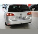 ATTELAGE VOLKSWAGEN GOLF 7 BREAK 2013- - RDSO demontable sans outil - attache remorque BRINK-THULE