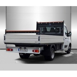 ATTELAGE OPEL MOVANO Chassis Cabine 05/2010- (traction et propulsion) - rotule equerre - attache remorque BRINK-THULE