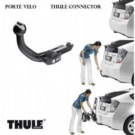Attelage Toyota IQ 2009- - RDSO demontable sans outil - Porte velo THULE Connector