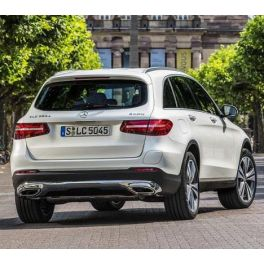 ATTELAGE MERCEDES GLC 2015- (X253 et style AMG) - RDSO demontable sans outil - BRINK-THULE