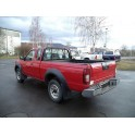ATTELAGE NISSAN KING-CAB 2000- (D22 inclus Single Cab) - rotule equerre - attache remorque BRINK-THULE