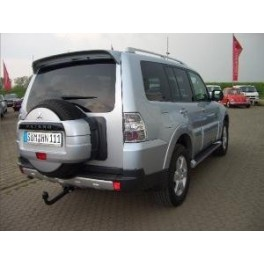 ATTELAGE MITSUBISHI PAJERO 01/2007- (Chassis long V90) - RDSO demontable sans outil - attache remorque BRINK-THULE