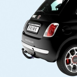 ATTELAGE Fiat 500 2007- - COL DE CYGNE - attache remorque BRINK-THULE