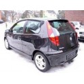 ATTELAGE Fiat Punto hayon 2003- - Sport (Sporting) - RDSO demontable sans outil - attache remorque BRINK-THULE