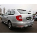 ATTELAGE SKODA Superb BREAK 2010- - RDSO demontable sans outil - attache remorque BRINK-THULE