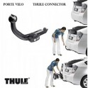 Attelage Toyota Prius 2012- - RDSO demontable sans outil - Porte velo THULE Connector